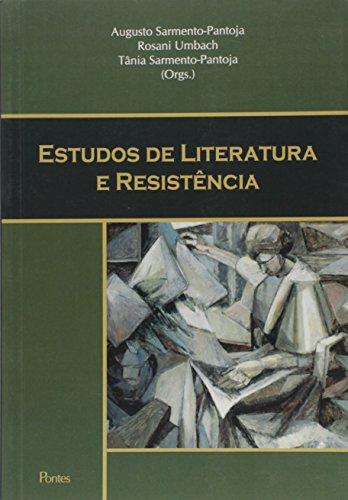 Estudos de Literatura e Resistência, livro de Augusto Sarmento-pantoja