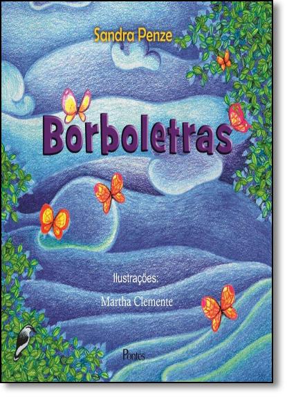 Borboletras, livro de Sandra Penze