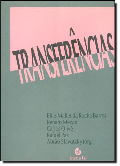 Transferências, livro de Elias Mallet da Rocha Barros