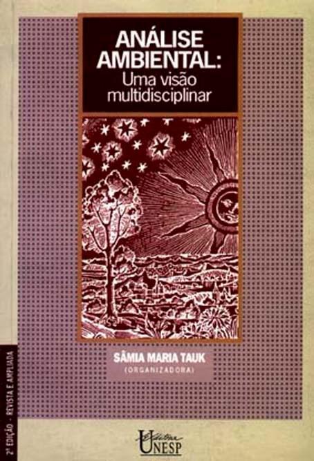 Análise Ambiental, livro de Sâmia Maria Tauk (org.)