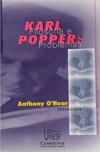 Karl Popper - filosofia e problemas, livro de Anthony O'Hear (Org.)