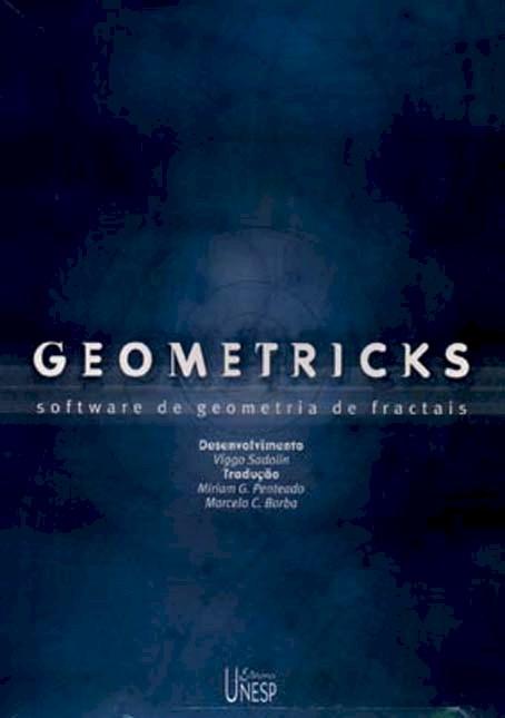 Geometricks - software de geometria de fractais, livro de Viggo Sadolis
