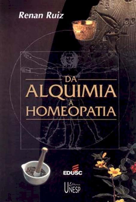 Da alquimia a homeopatia, livro de Renan Ruiz
