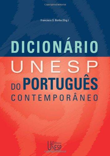 Dicionário Unesp de Português Contemporâneo, livro de Francisco da Silva Borba