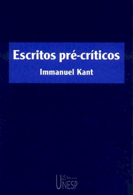 Escritos pré-críticos, livro de Immanuel Kant