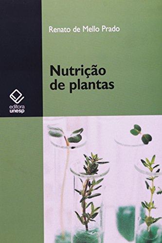 Nutrição de plantas, livro de Renato de Mello Prado