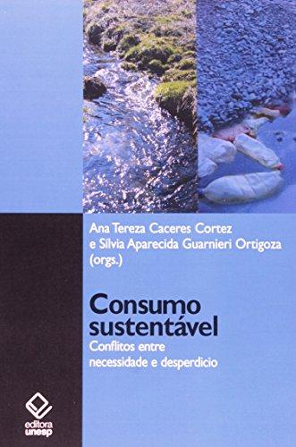 Consumo sustentável, livro de Cortez, Ana Teresa Caceres e Ortigoza, Silvia Aparecida Guarnieri