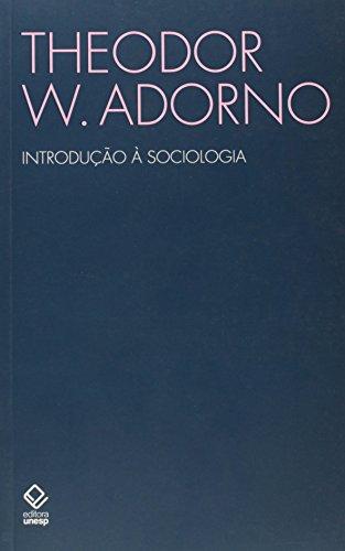 Introdução à Sociologia, livro de Theodor W. Adorno