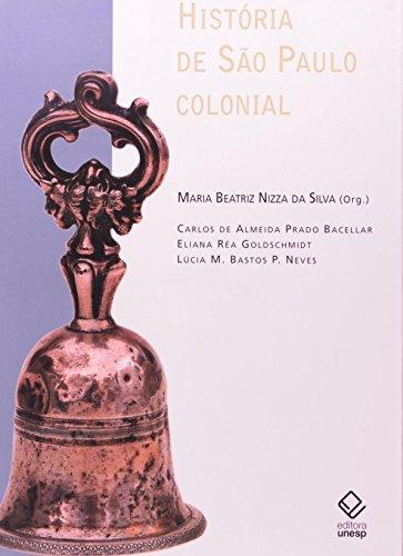 História de São Paulo Colonial, livro de Maria Beatriz Nizza Silva (org.)
