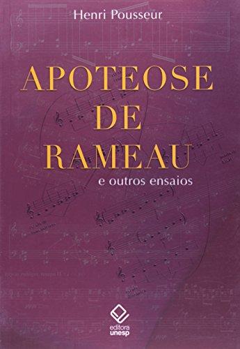 Apoteose de Rameau e outros ensaios, livro de Henri Pousseur