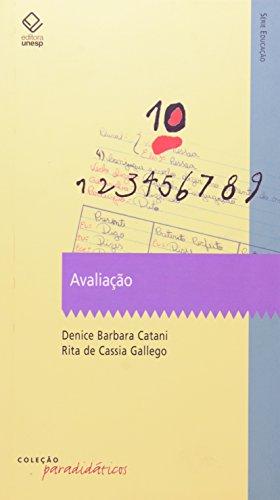 Avaliação, livro de Denice Barbara Catani, Rita de Cassia Gallego