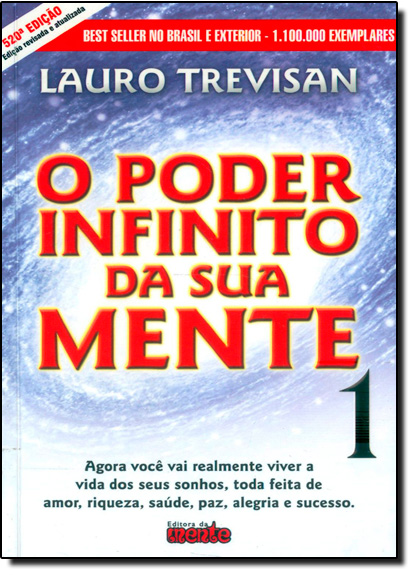 Poder Infinito da Sua Mente, O, livro de Lauro Trevisan