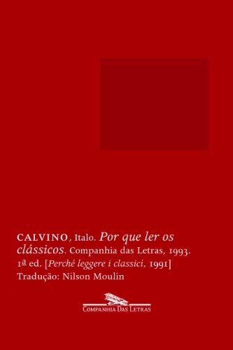 Por que ler os clássicos, livro de Italo Calvino