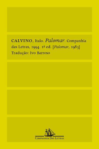 Palomar, livro de Italo Calvino