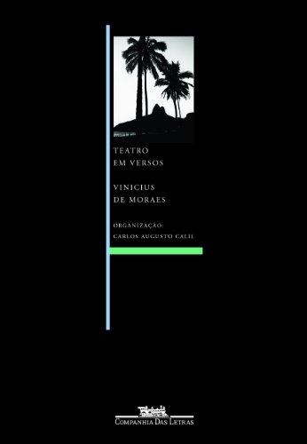 TEATRO EM VERSOS, livro de Vinicius de Moraes