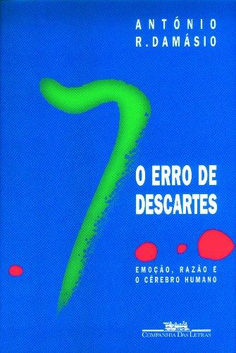 O ERRO DE DESCARTES, livro de António R. Damásio