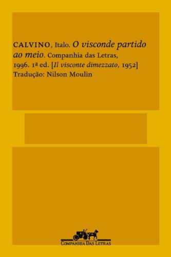 O visconde partido ao meio, livro de Italo Calvino