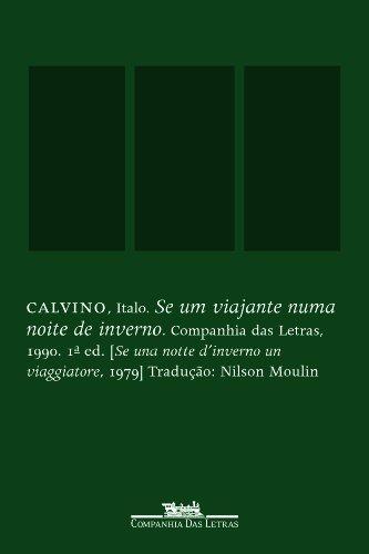 Se um viajante numa noite de inverno, livro de Italo Calvino