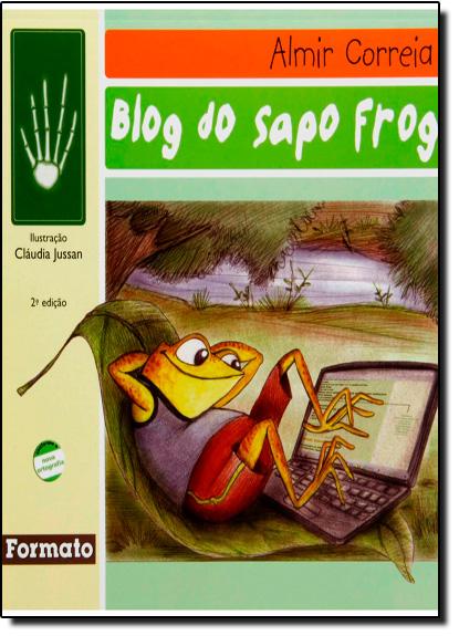 Blog do Sapo Frog, livro de Almir Correia