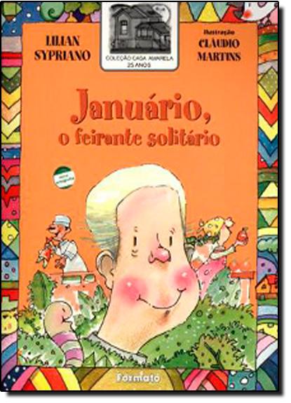 Januário, o Feirante Solitário, livro de Lilian Sypriano