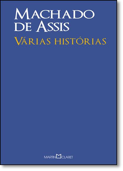 Várias Histórias, livro de Machado Assis