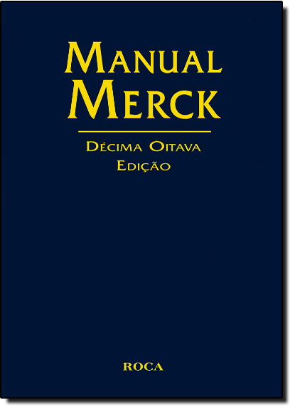 Manual Merck de Medicina, livro de Merck