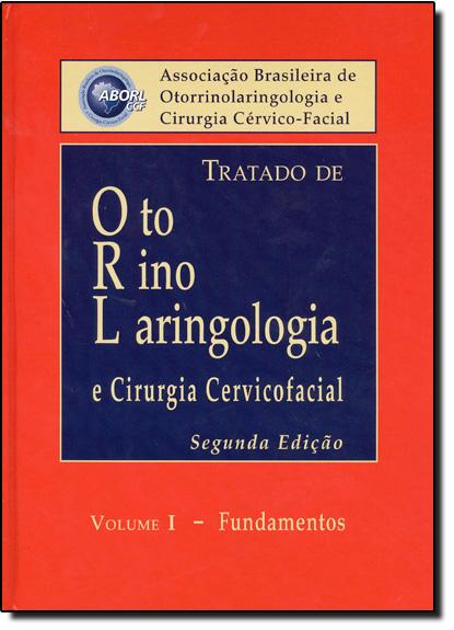 Tratado de Otorrinolaringologia - 4 Volumes, livro de Aborlccf