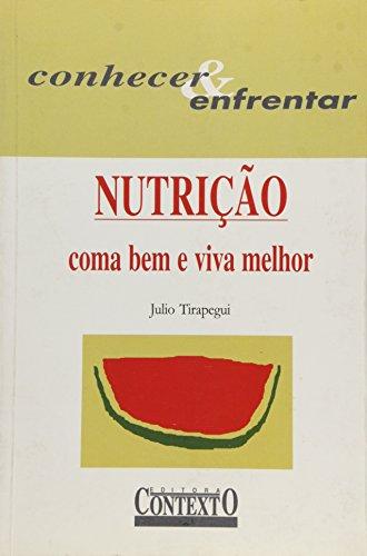 NUTRIÇÃO, livro de JÚLIO TIRAPEGUI