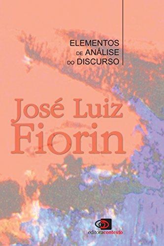 Elementos de Análise do Discurso, livro de José Luiz Fiorin