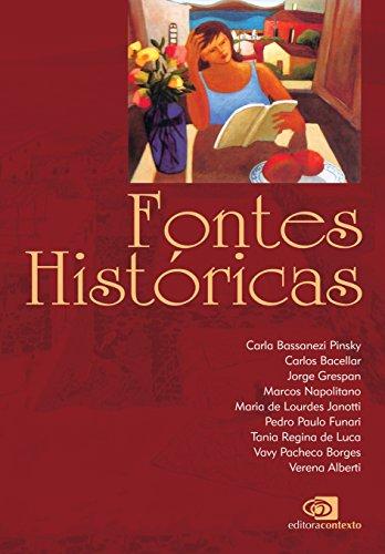 Fontes Históricas, livro de Carla Pinsky