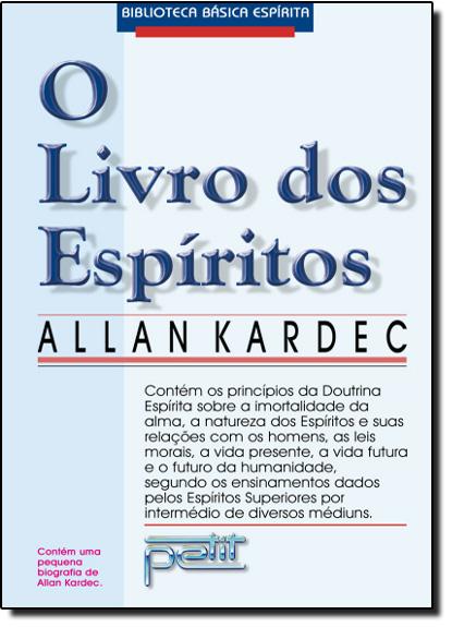 Livro dos Espíritos, O - Espiral, livro de Allan Kardec