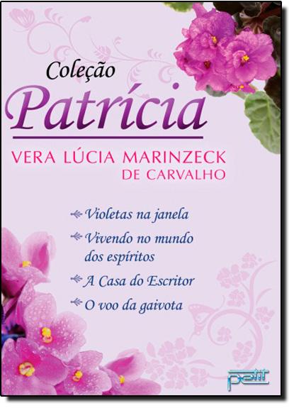 Box Coleção Patrícia, livro de Vera Lúcia Marinzeck de Carvalho