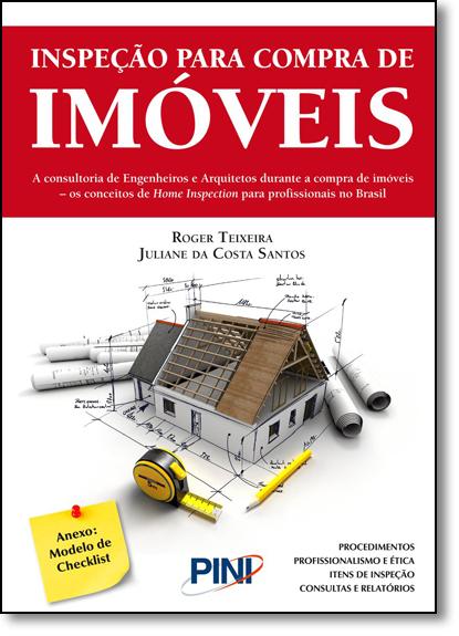 Inspeção Para Compra de Imóveis, livro de Juliane da Costa Santos