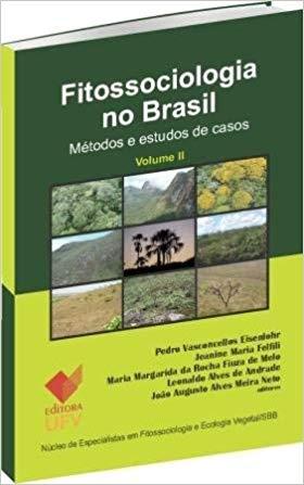 FITOSSOCIOLOGIA NO BRASIL VOL 2 -  PEDRO VASCONCELLOS EISENLOHR - ED.UFV, livro de