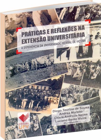 Práticas e Reflexões na Extensão Universitária, livro de Diogo Tourino de Sousa