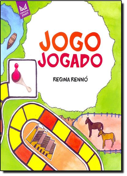 Jogo Jogado, livro de Regina Rennó