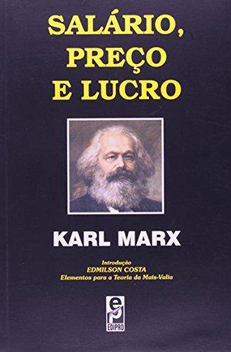 Salário, Preço E Lucro, livro de Karl Marx