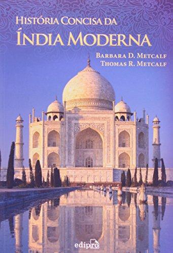 História Concisa da Índia Moderna, livro de Barbara D. Metcalf