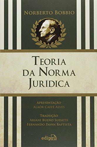 Teoria da Norma Jurídica, livro de Norberto Bobbio