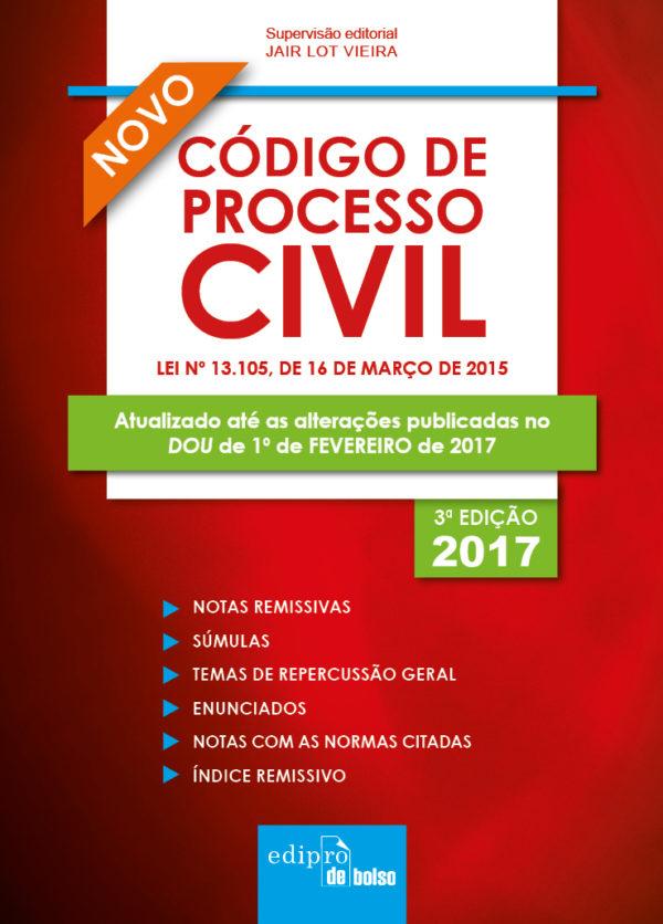 Código de Processo Civil - Mini, livro de Jair Lot Vieira
