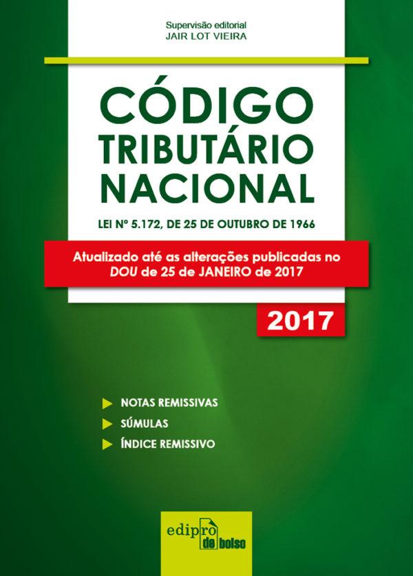 Código Tributário Nacional - Mini, livro de Jair Lot Vieira