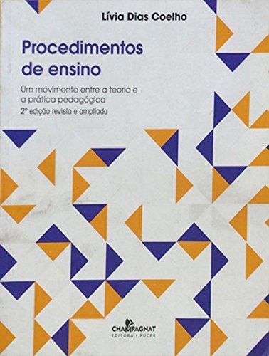 PROCEDIMENTO DE ENSINO  , livro de Livia Dias Coelho