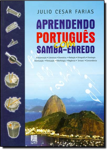 Aprendendo Português Com Samba Enredo, livro de Júlio César Farias