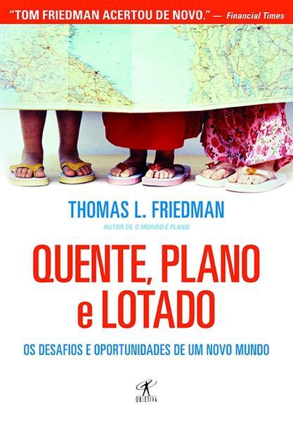 Quente, Plano e Lotado, livro de Thomas L Friedman