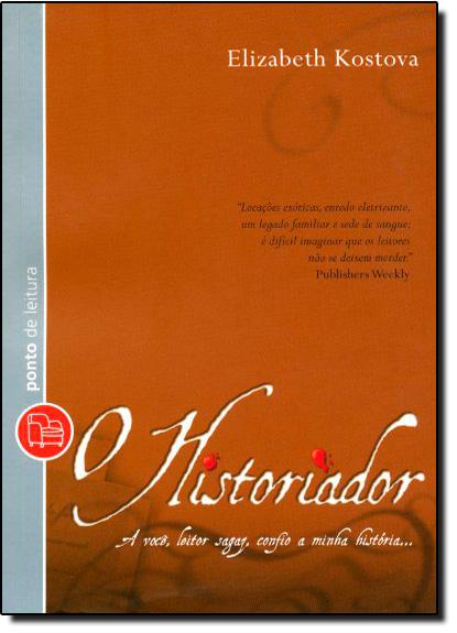 Historiador, O - Edição de Bolso, livro de Elizabeth Kostova