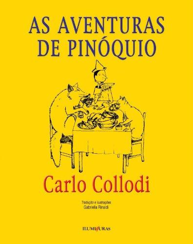 As aventuras de Pinóquio, livro de Carlo Collodi