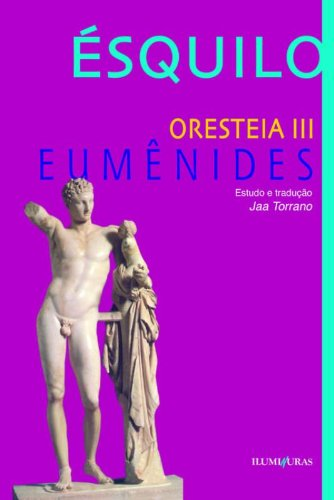 Orestéia III - Eumenides, livro de Ésquilo