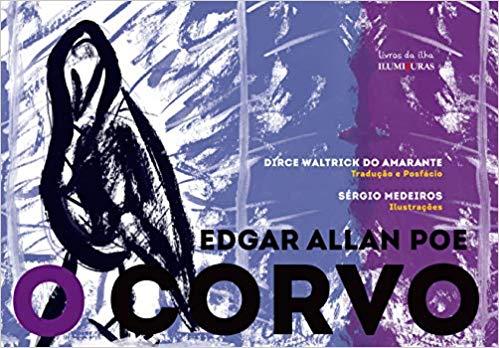 O corvo, livro de Edgar Allan Poe, Sérgio Medeiros [ilustrações]