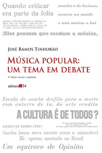 Música Popular: um Tema em Debate, livro de José Ramos Tinhorão