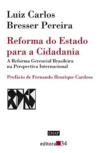 Reforma do Estado Para a Cidadania, livro de Luiz Carlos Bresser-Pereira